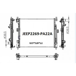 JEEP2269-PA22A (2014 up JEEP GRAND CHEROKEE V6)