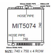 1997 up FUSO SHOGUN FV350